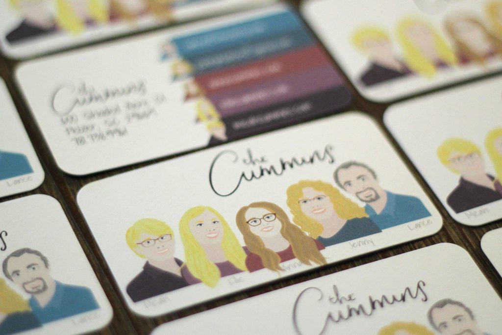 The Cummins Contact Card